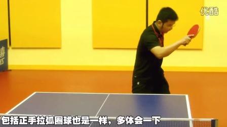 《全民学乒乓公开课》第2.10期:反手侧拧、正手挑打乒乓球教学视频