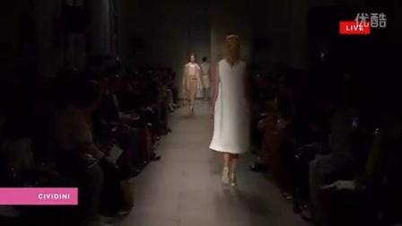 2015春夏米兰时装周Cividini 专场走秀