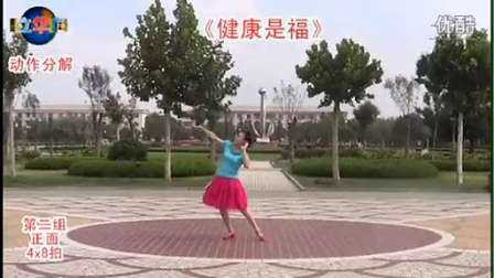 临盘立华广场舞 189健康是福立华编舞正背面口令教学视频