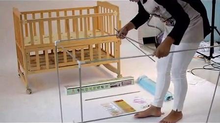 方形婴儿床蚊帐