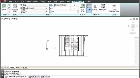 建筑识图入门-卧室平面图
