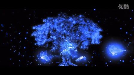 星空树手绘图片
