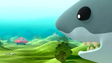 飞禽走兽大白鲨