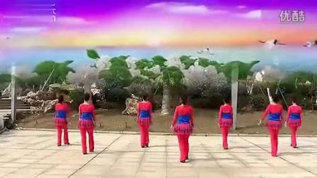 纯艺舞吧广场舞 华丽丽的情歌 编舞:廖弟;制作:飘舞