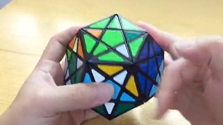 深切五魔方视频教程下:小中心块还原(微笑天空录制)