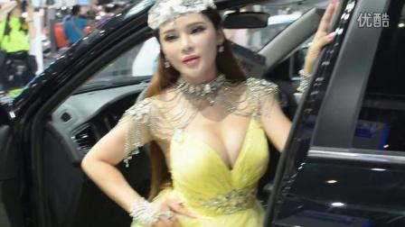 2014深圳国庆车展混血车模