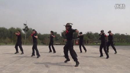 国庆节搏击操户外拉练01