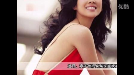 视频: 章子怡深V裙露背秀性感 挽外籍老总热聊