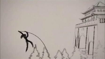 阿蚌教你简笔画丨 大鱼海棠 中的大鱼和鲸鱼