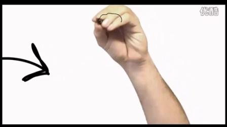 国庆节,手画视频,手绘视频展示,案例02