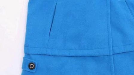 2014秋冬新款韓版顯瘦毛呢外套氣質正品羊毛呢子大衣女中長款女裝