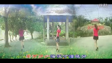 大湾群联广场舞 给我一根烟 编舞梦瑶 正反面动作演示 演唱李多娜