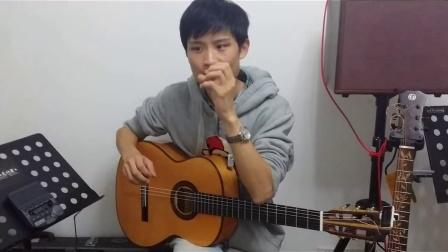 古典吉他轮指教学--轮指学习教程--来自猩猩的白较瘦