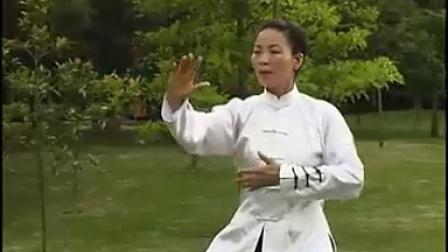 黎尉琳辅导杨氏85式太极拳