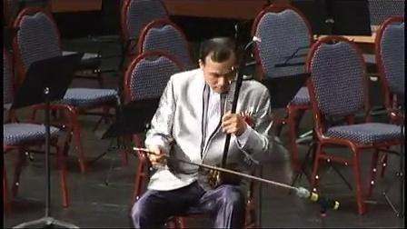2012年 鲁建敏 中央民族乐团 二胡演奏家 - 洪湖人民的心愿 (二胡独奏