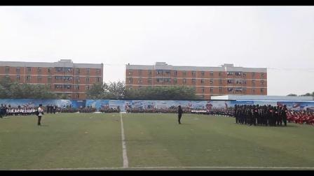 最牛開學典禮,直升機送校旗--成都東星航空學院2014年
