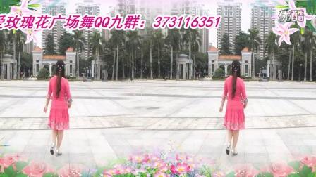 可爱玫瑰花广场舞32步(女神我的爱)附分解动作 可爱玫瑰花编舞 原创