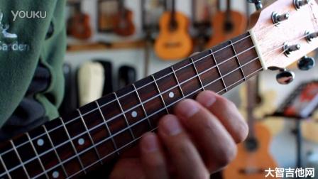 ukulele 生日快乐歌 大智吉他