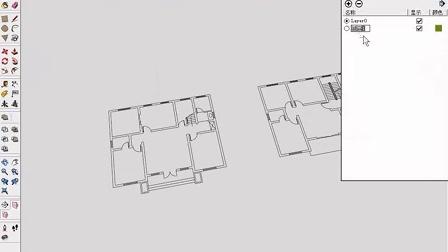sketchup园林景观设计教程_将cad图纸导入su