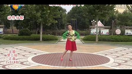临盘立华广场舞 火辣辣的日子 编舞立华 正反面动作演示 口令分解 演唱陈子琳
