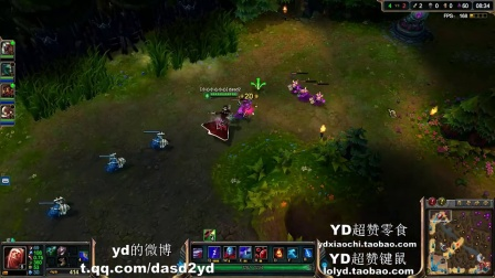 YD解说能够1V5的上单吸血鬼第一视角