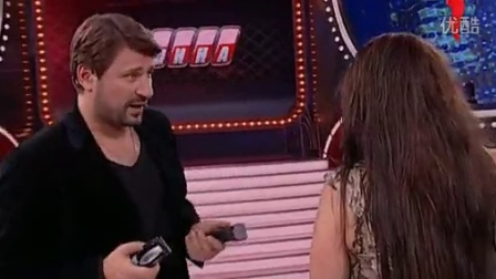 Girl shaves herself on TV show