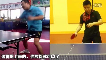 《全民学乒乓公开课》第2.13期:打球如何保持脚下的弹性