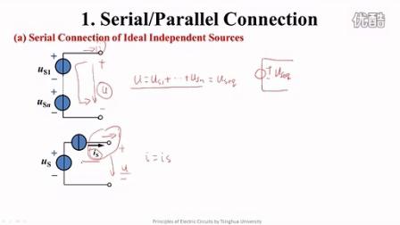 電源的等效變換 清華 電路原理分析 電路 大學 于歆杰 電壓電路電流電感電容