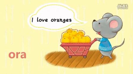 少儿英语动画片 水果