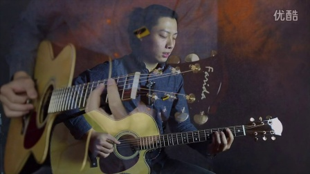 东东吉他弹唱《关于未来我不能一个人去想》 法丽达R62