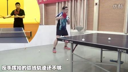 《全民学乒乓公开课》第2.17期:正手前冲弧圈球技术