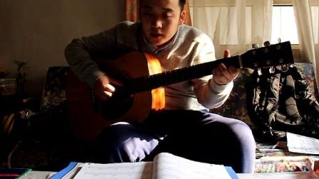 小孩吉他弹唱滴答视频