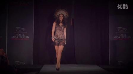 【wwefans2009】性感蕾絲塑身緊身內衣會展模特走秀