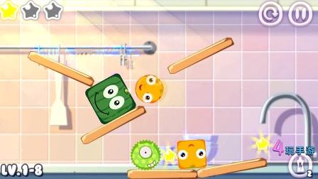 4玩手游滚吧水果 -物理益智类手游