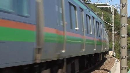 e233系 东海道本线を快走 e233系3000番台一般形电车 近郊タイプ the