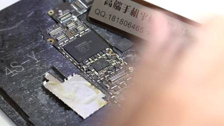 苹果5基带主板图解