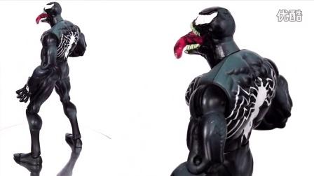 VENOM Action Figure Evolution Episode 11 漫威 蜘蛛侠 毒液 玩具 集中展示