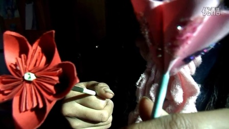 手工折纸花欣赏图片