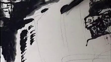 学习画山水画-山水画视频教程下载-小写意画法_王中年山水画技法3