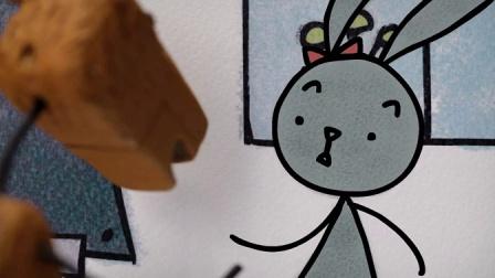 西班牙温情小动画《兔子和鹿》