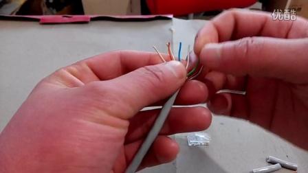 网线水晶头接法视频