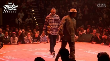 Snipes FUnkin Stylez 2014 Only the strong_ Hip Hop  1_8 Final_ Slunch  VS. UKAY