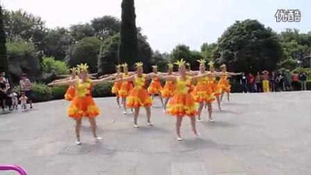 广场舞舞动中国14人变队形