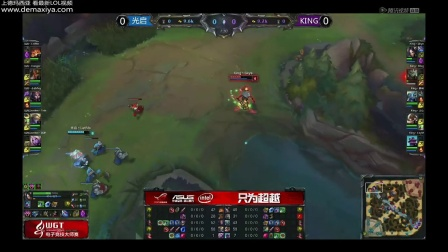 WGT2014半决赛:King vs 光启Gamtee 第1场
