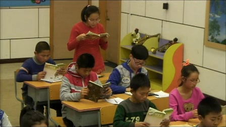 [同步课堂]人教(PEP)小学英语六年级下册 Unit4 Then and now(Revision) 教学视频,内蒙古(部级优课)实录