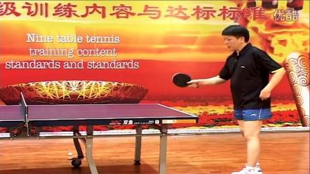 第39集:快搓或拉下旋发球《乒乓球九级v福利内倍福利教程频四图片
