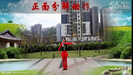 (138)红乔开心广场舞和幸福天天广场舞合作版穷人富贵梦附分解 编舞�~子