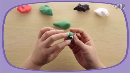 彩泥粘土-霸气的恐龙
