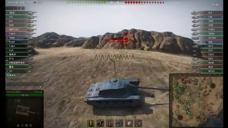 【SZRXS的坦克世界解说】AMXCDC战斗视频