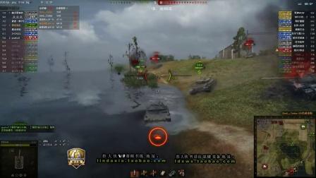 坦克世界9.5拎大侠解说 暴脾气 RU251 当完轻坦 当中坦